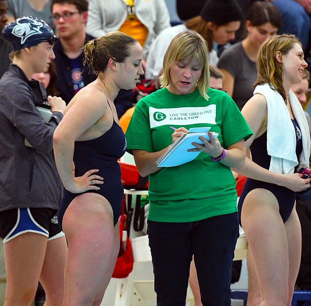 Brooke Plotz, Associate Head Men's and Women's Swim Coach, Carleton College