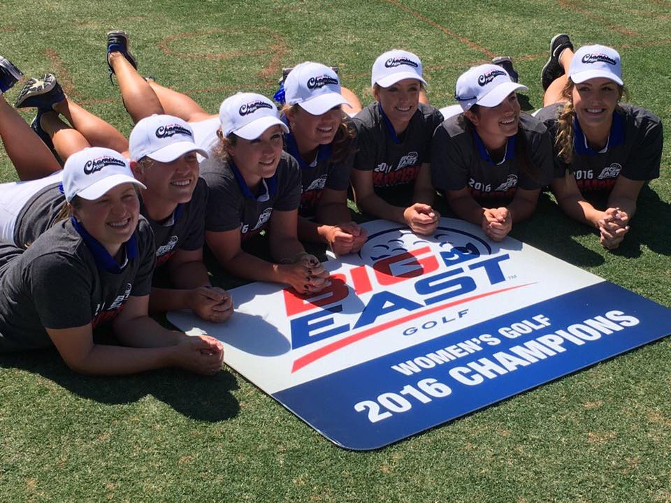 2016 Women's Golf Big East Champions