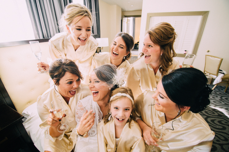 bridesmaid photography poses
