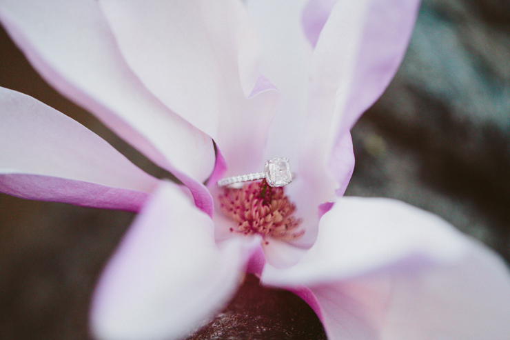Engagement ring from Bremer Jewelry