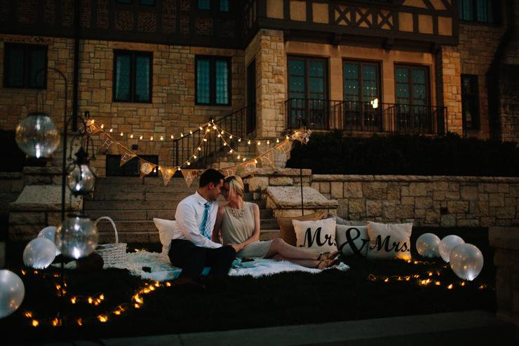 Surprise Proposal at Ewing Manor Bloomington, Illinois