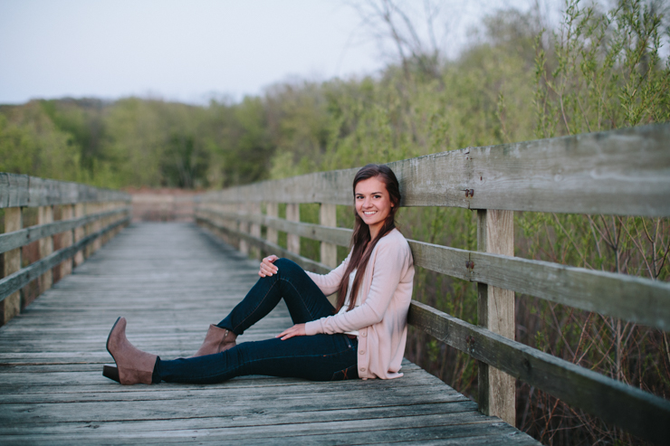 senior girl photography central illinois by meredith washburn photography