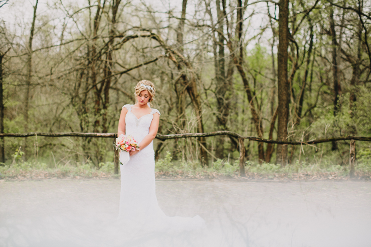 Bride by meredith washburn photography