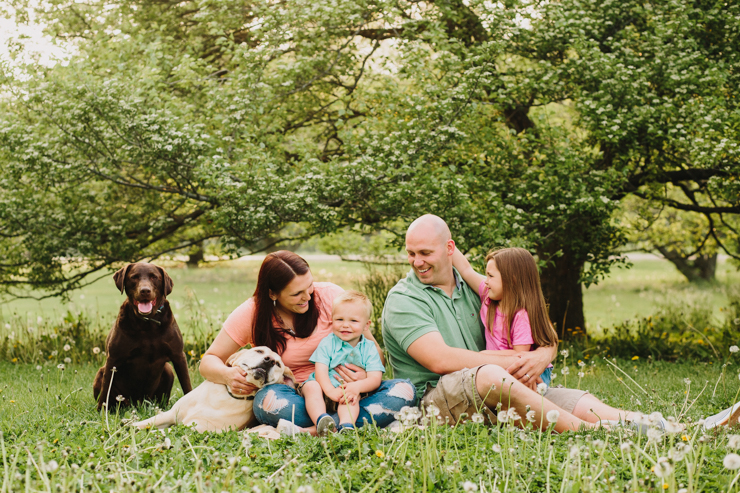 family photography by meredith washburn photography of central illlinois