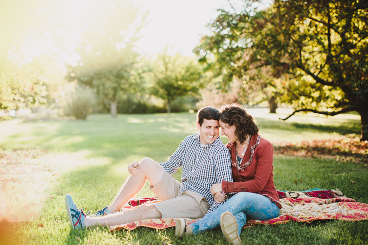 central illinois engagement photography by meredith washburn