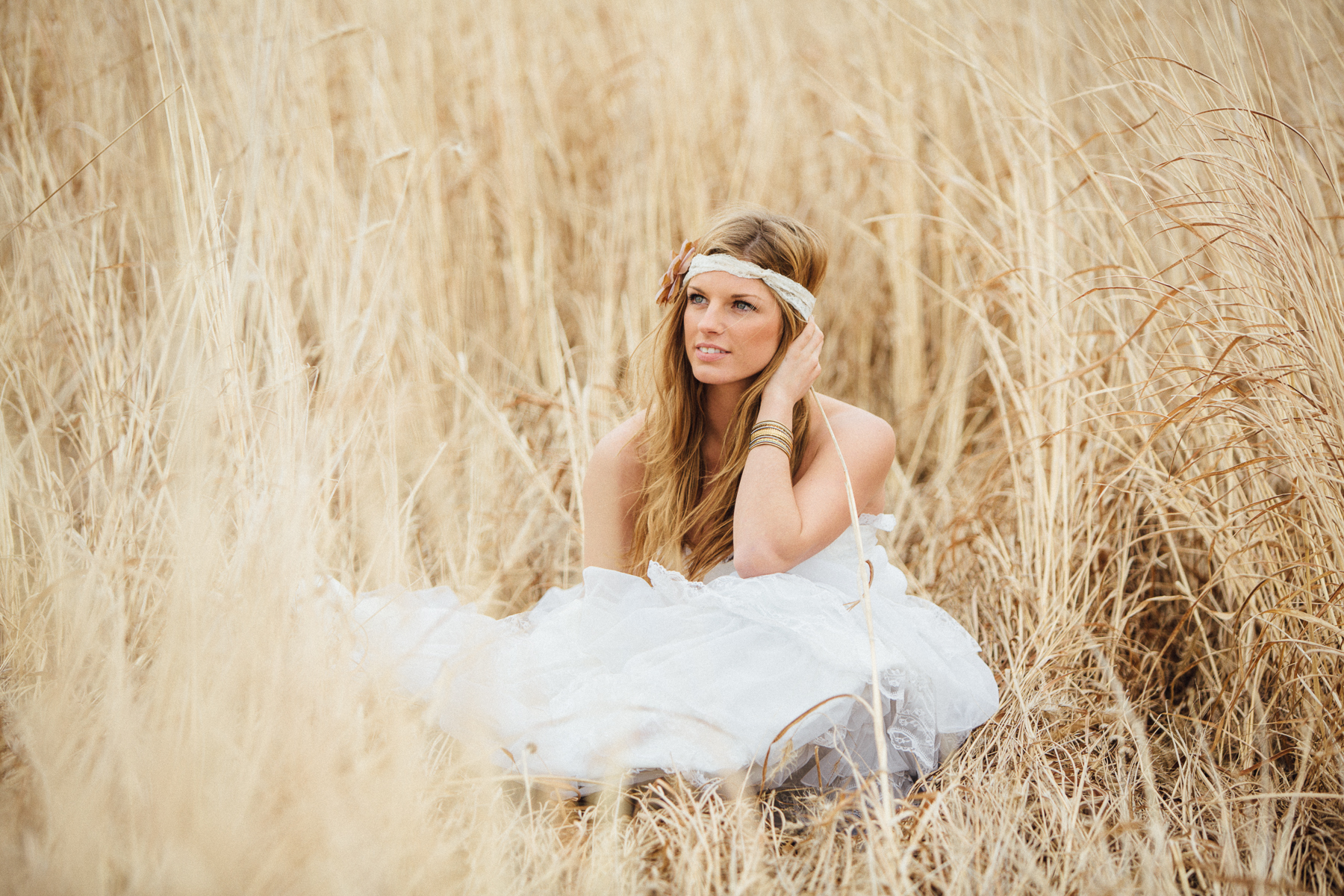 bridal portrait session