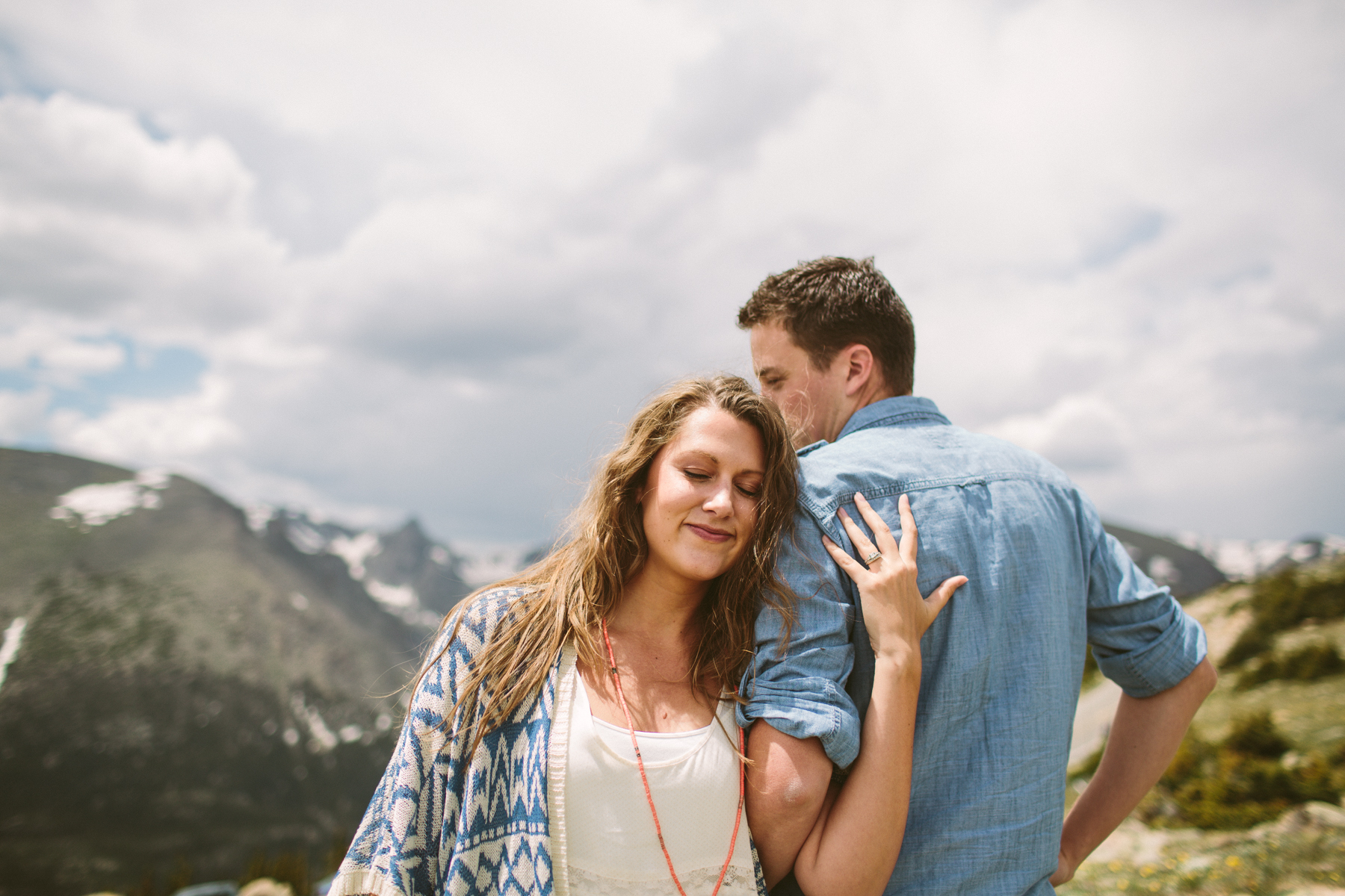 couple photography in the colorado mountains