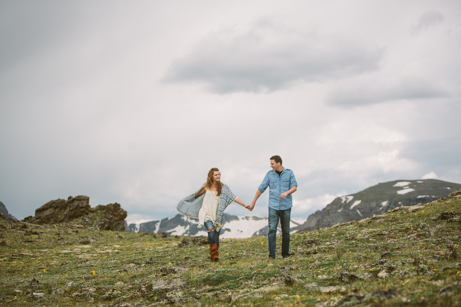 colorado engagement photoshoot