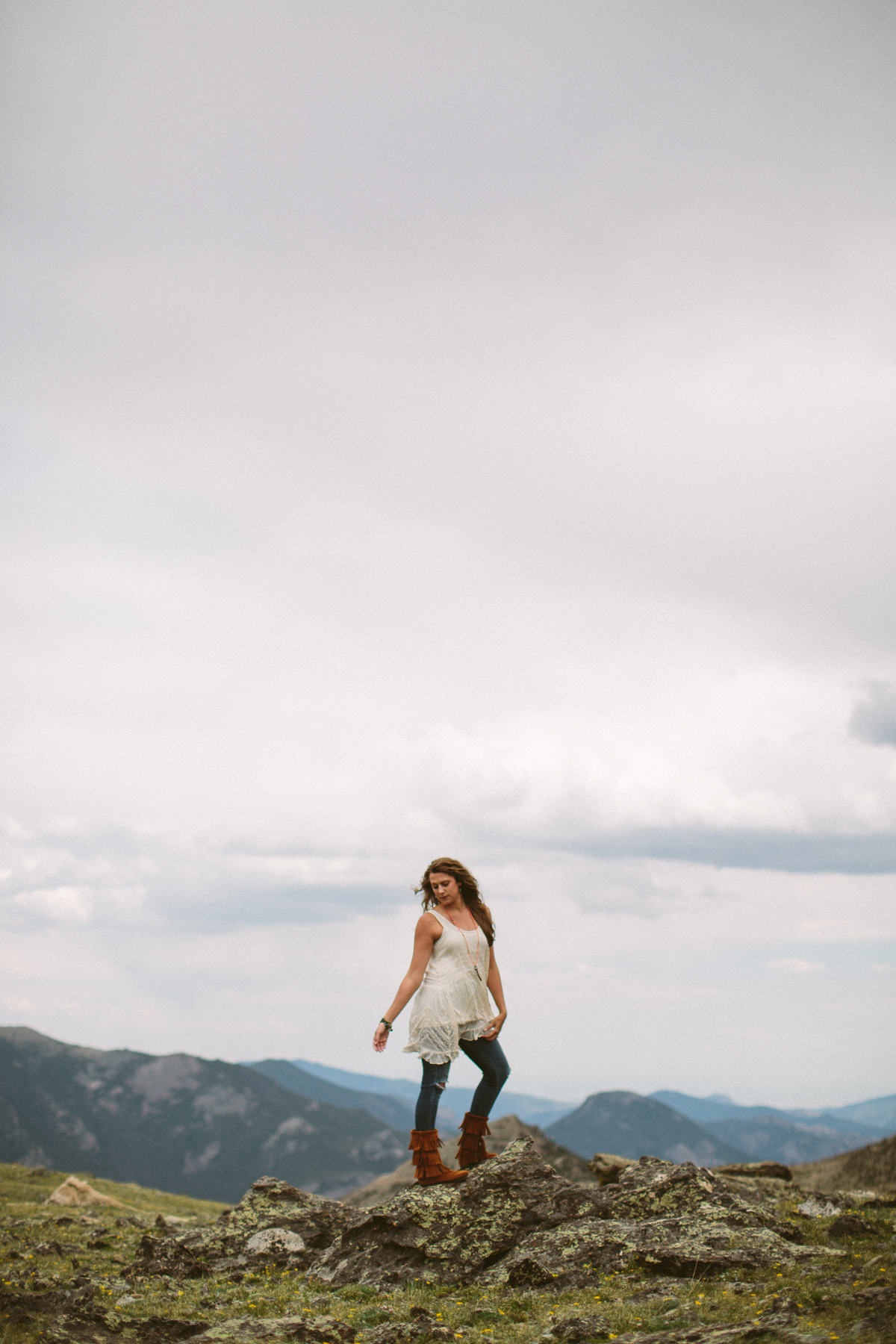 colorado boho styled photoshoot