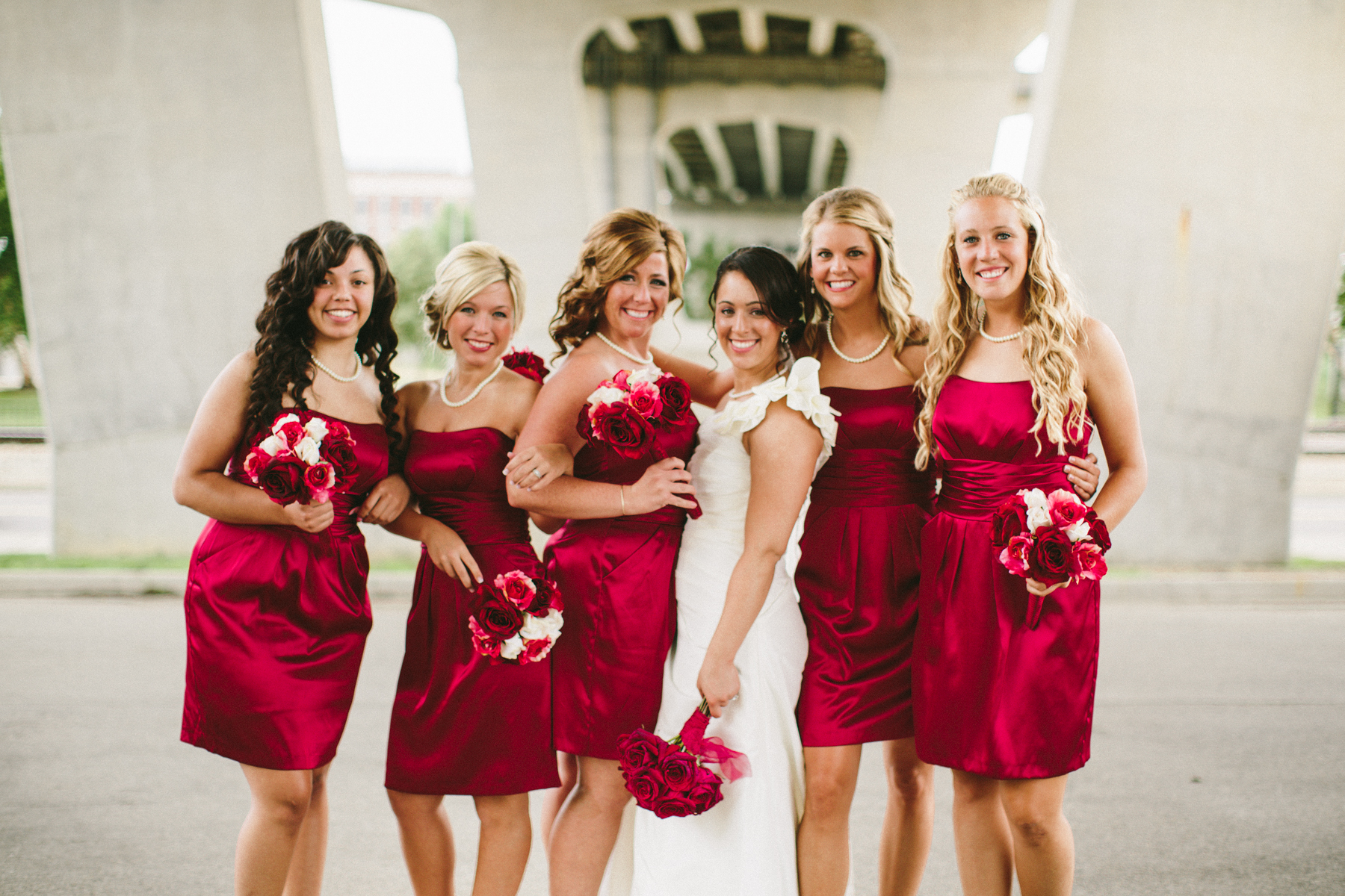 bridal party girls