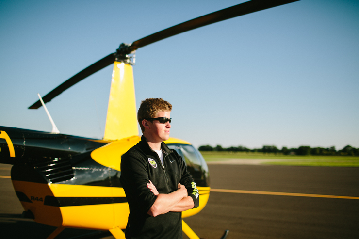 helicopter photoshoot with bland productions