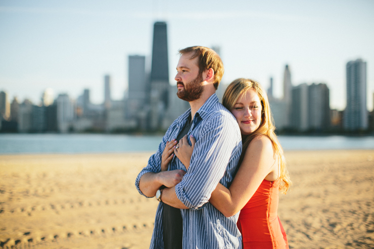 Chicago engagement photography