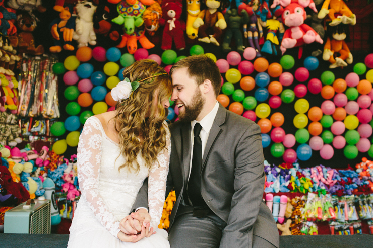 carnival wedding photos