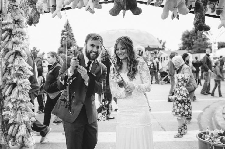 carnival wedding photos
