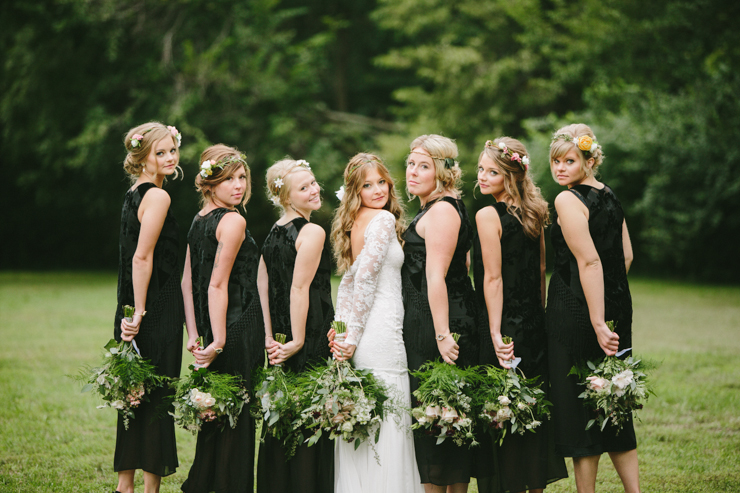 bridal party photography
