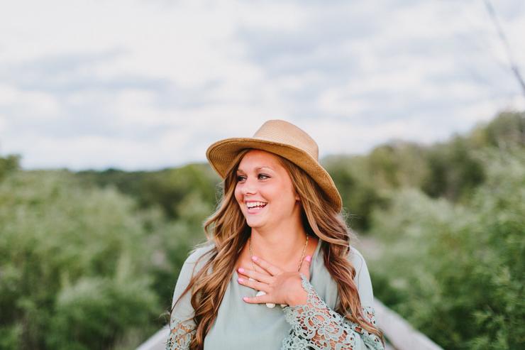 Senior Girl Photo Session by Meredith Washburn