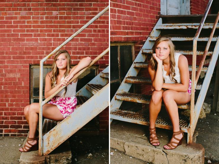 Senior Girl Photo Session by Meredith Washburn Photo