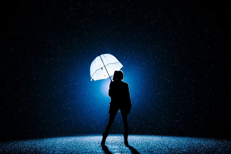 Night Photography in the summer Rain by Meredith Washburn