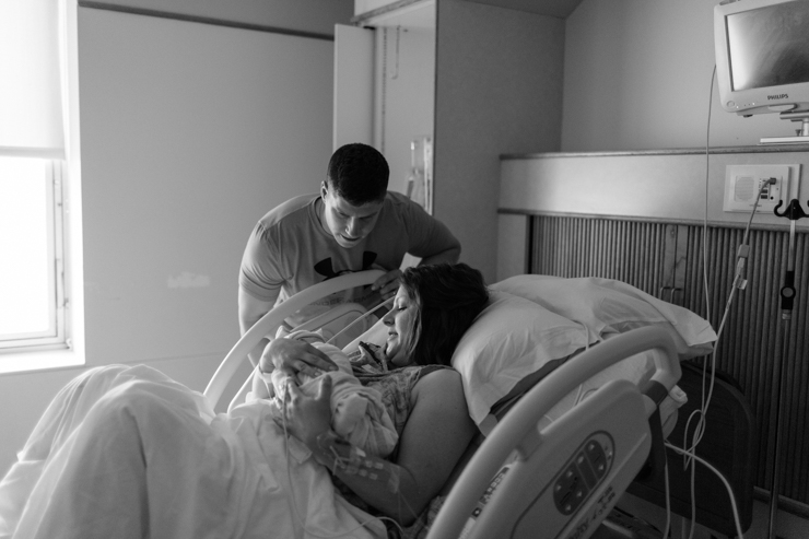 Peoria Illinois Hospital Birthing Session