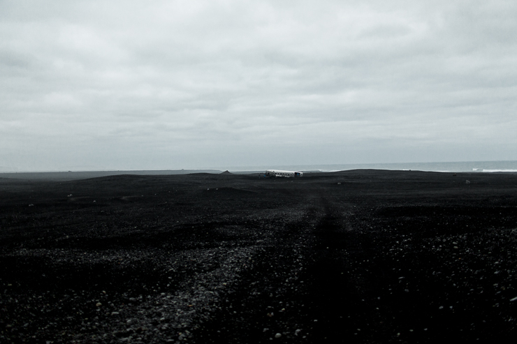 US Navy DC3 Wreckage at Solheimasandur, Iceland