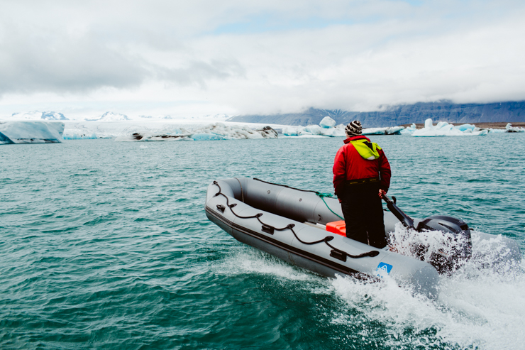 Boat Tours Jokulsarlon Glacier Lagoon, Iceland