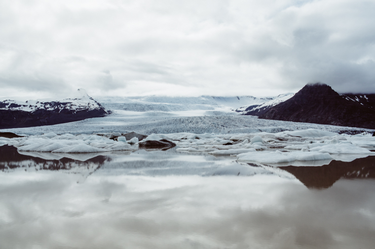 Fjallsárlón glacier lagoon, Iceland