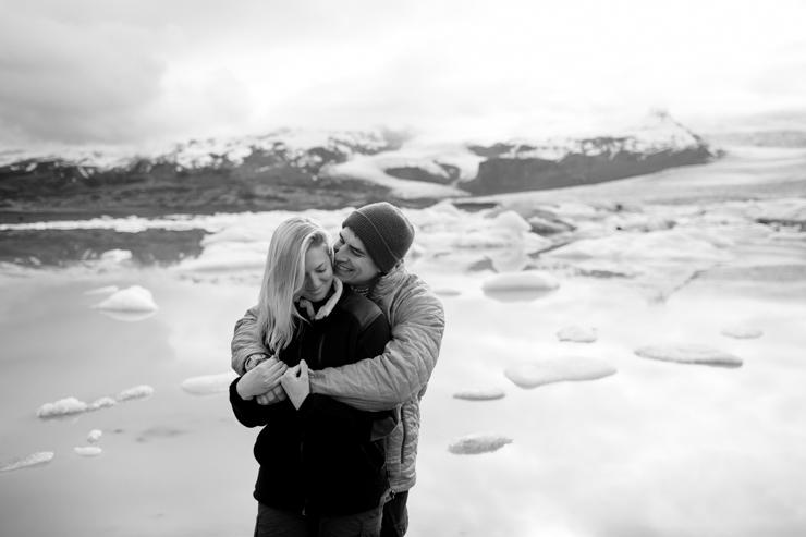 Iceland Wedding Photographer Fjallsárlón glacier lagoon, Iceland