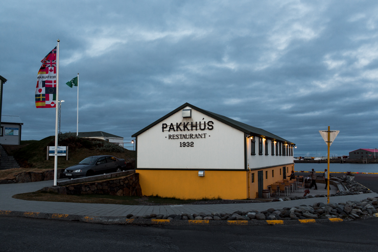 Pakkhus, langoustine restaurant