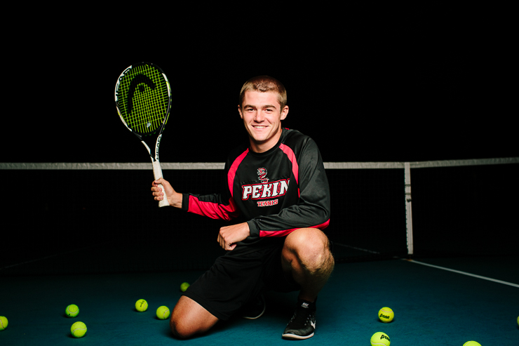 Senior Boy Tennis Photography Poses