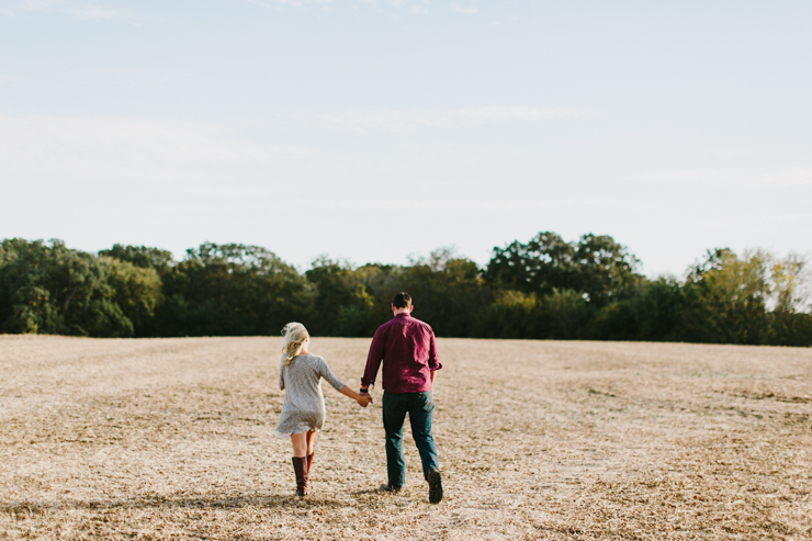Countryside engagement session