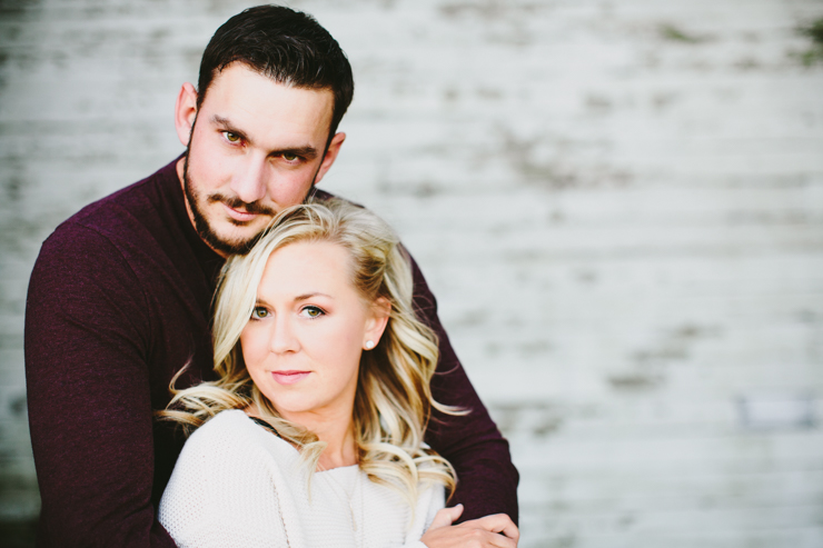 Nolan and Alyssa's Rustic Countryside engagement session