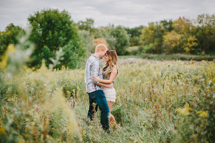 intimate countryside engagement