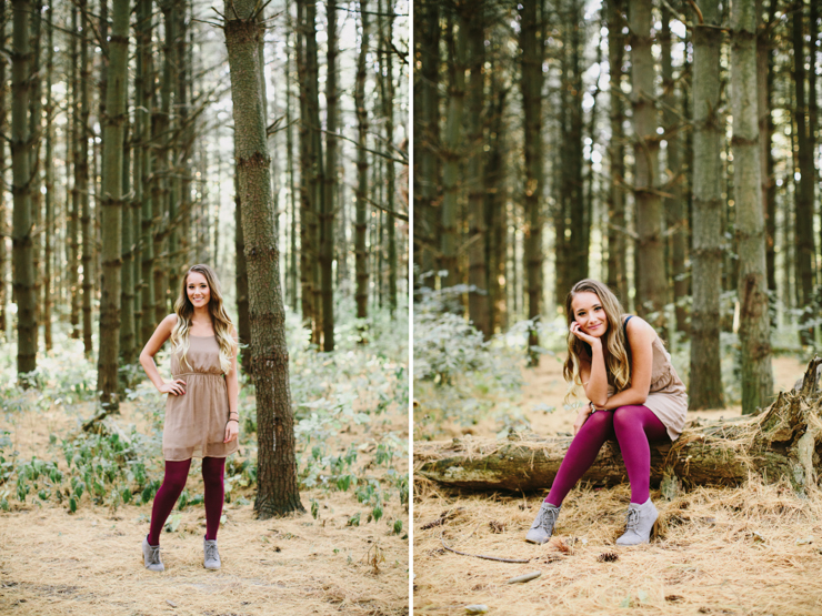 Midwest Senior Girl Photography by Meredith Washburn