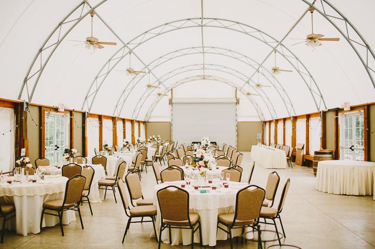 Reception Venue at Kickapoo Creek Winery