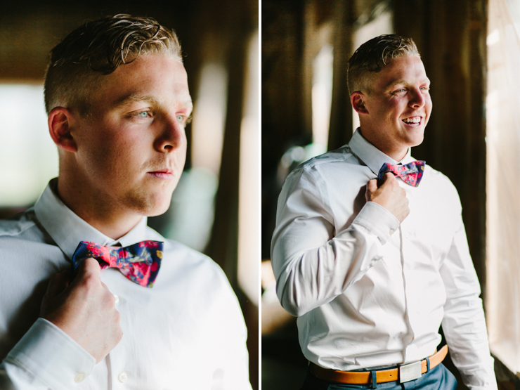 groom portraits as he gets ready