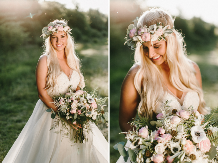 Justine Ulrich Modeling for Styled Bridal Photo Session with Cloud Nine Bridal, Bremer Jewelry Peoria, and Floral Designs Ltd. Morton IL