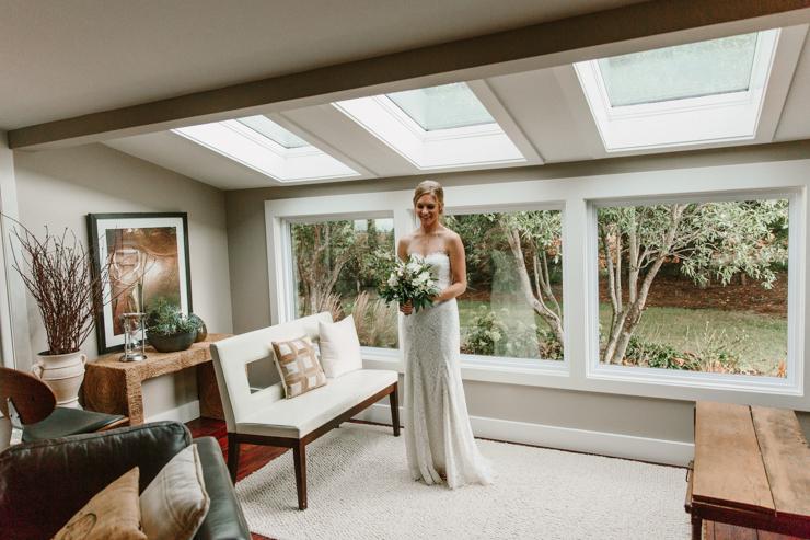 Bride Getting Ready at Pear Tree Estate Champaign, IL