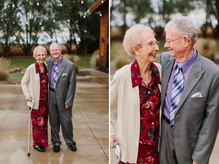 Grandparent portraits at wedding Pear Tree Estate Champaign, IL