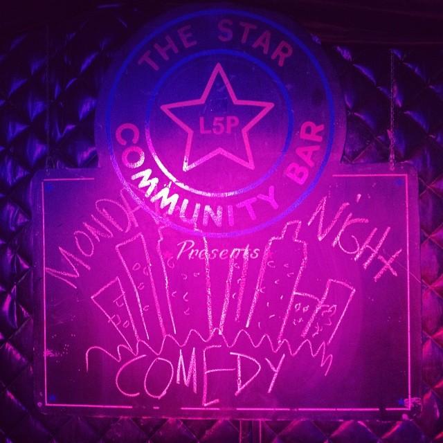 MONDAY NIGHT COMEDY — March 17, 2014 — The Star Community Bar, Atlanta, GA
