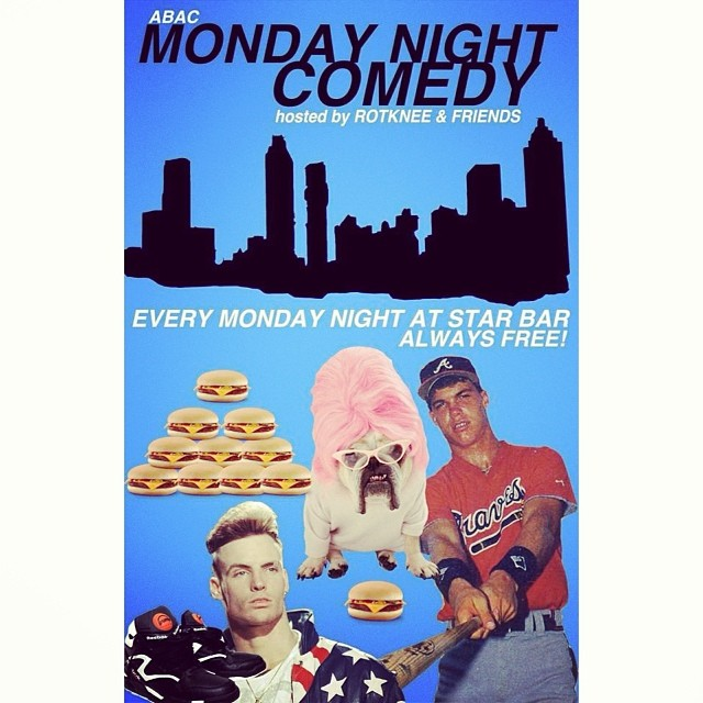 Monday Night Comedy — March 24, 2014 — The Star Community Bar, Atlanta, GA