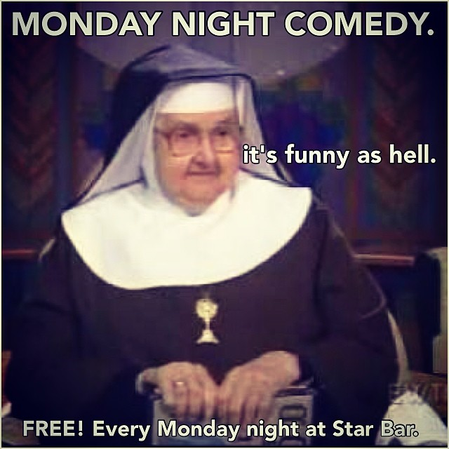 Monday Night Comedy — April 21, 2014 — The Star Community Bar, Atlanta, GA