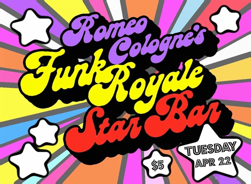Romeo Cologne's Funk Royale featuring Quasi Mandisco — April 22, 2014 — The Star Community Bar, Atlanta, GA
