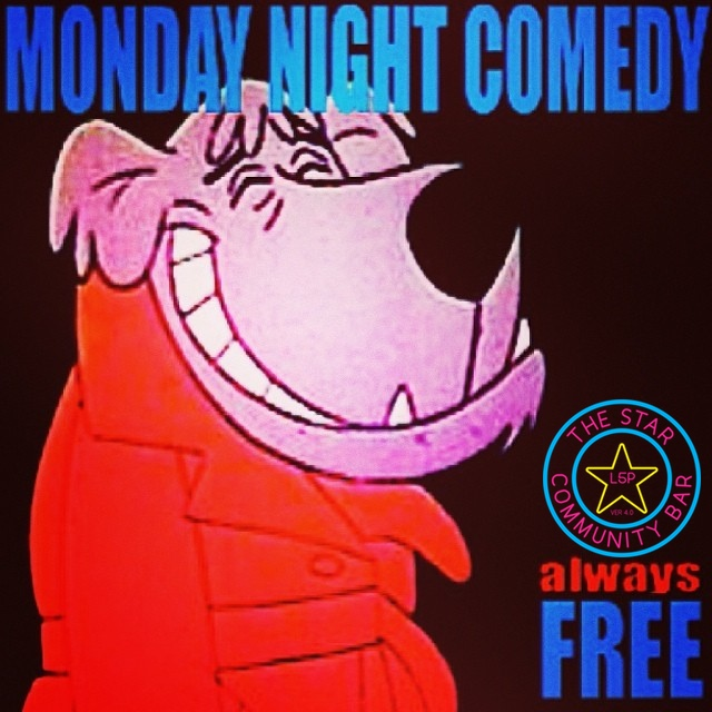 Monday Night Comedy — May 12, 2014 — The Star Community Bar, Atlanta, GA