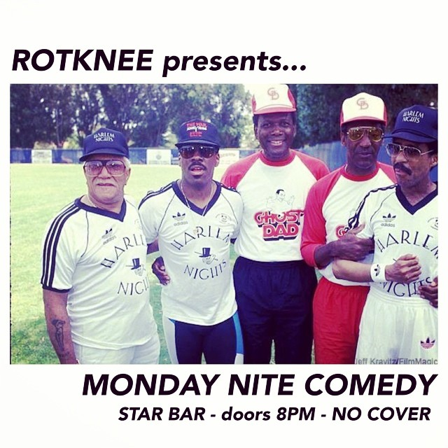Rotknee Presents: Monday Night Comedy — August 4, 2014 — The Star Community Bar, Atlanta, GA