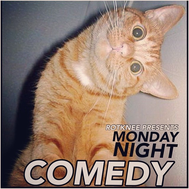 Rotknee Presents: Monday Night Comedy — August 25, 2014 — The Star Community Bar, Atlanta, GA