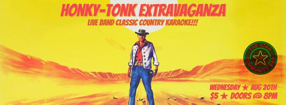 Honky-Tonk Extravaganza — August 20, 2014 — The Star Community Bar, Atlanta, GA