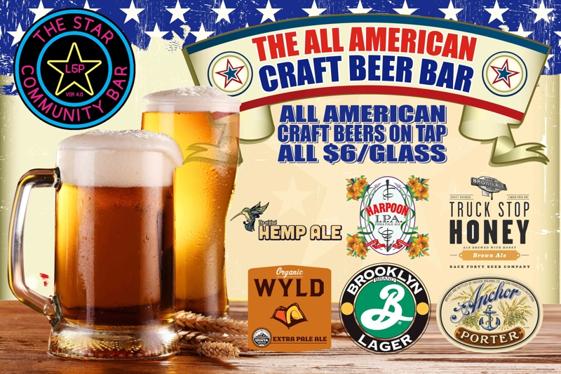 The All American Craft Beer Bar — The Star Community Bar, Atlanta, GA