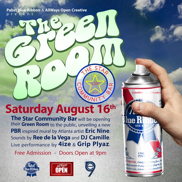 The Green Room — August 16, 2014 — The Star Community Bar, Atlanta, GA