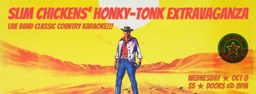 Slim Chickens' Honky-Tonk Extravaganza — October 8, 2014 — The Star Community Bar, Atlanta, GA