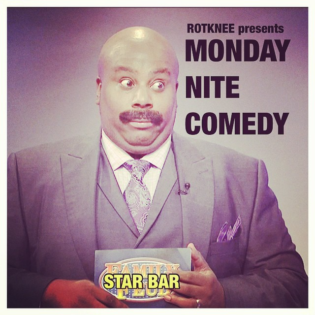 Rotknee Presents: Monday Night Comedy — October 13, 2014 — The Star Community Bar, Atlanta, GA